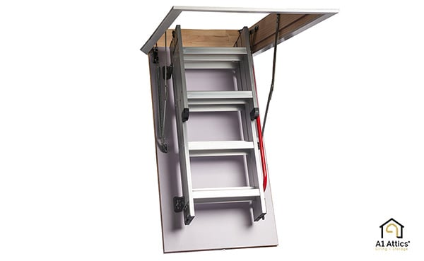 eco aluminium attic ladder a1 attics