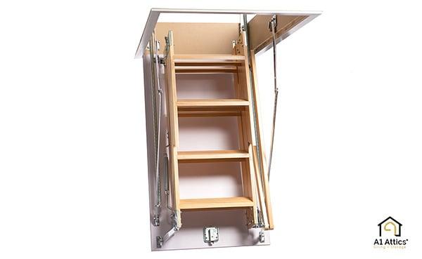 a1 attics timber attic ladder