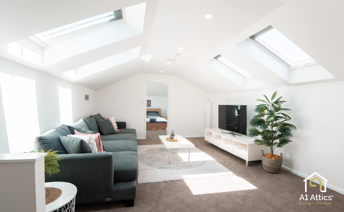 attic conversion project perth