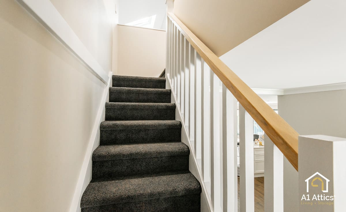 attic conversion staircase
