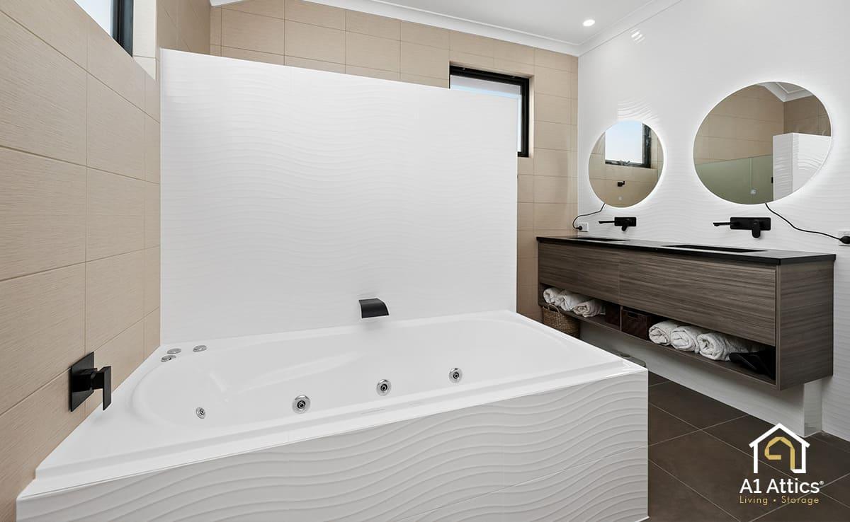 second storey addition marangaroo bathroom