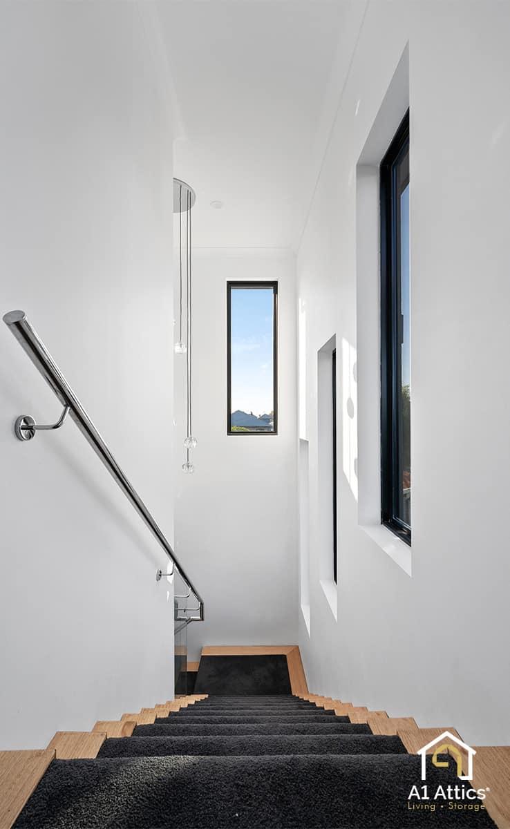 second storey addition marangaroo stairs