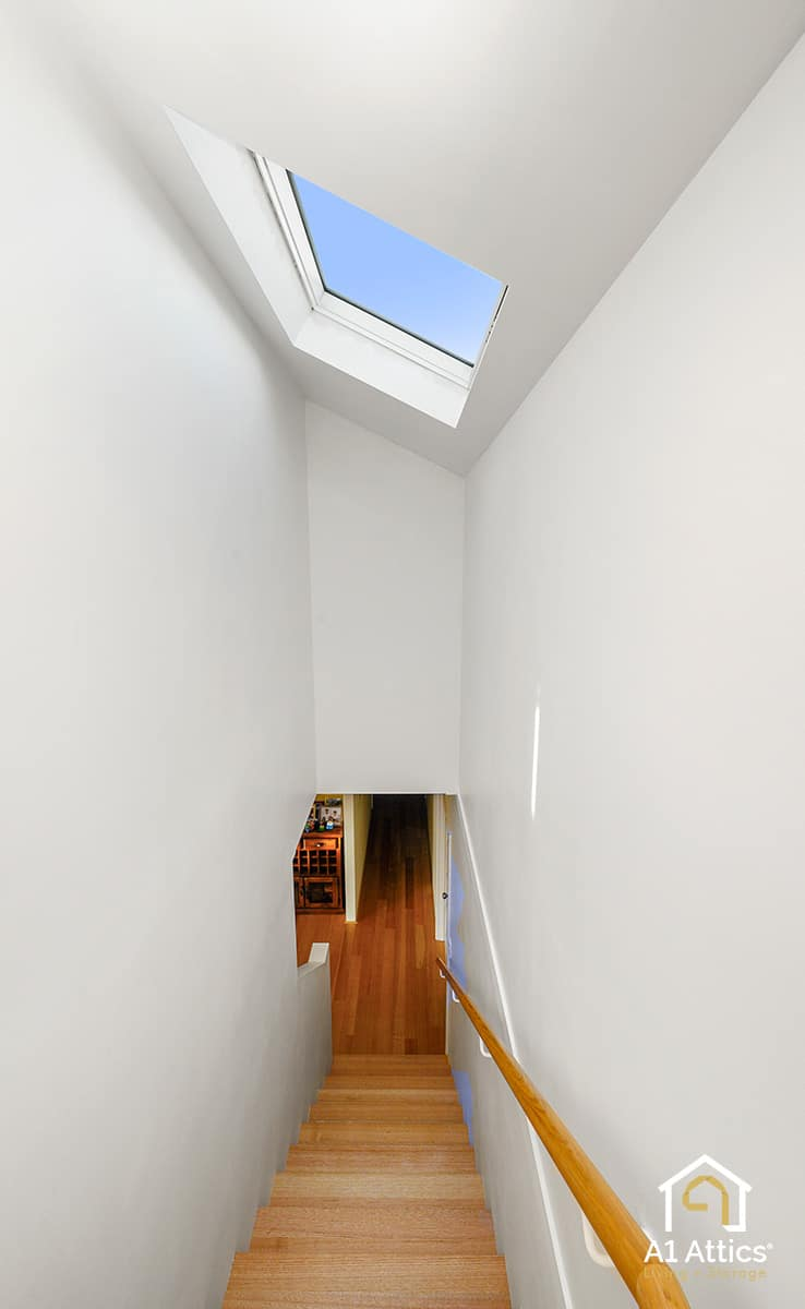 attic conversion stairwell aubin grove
